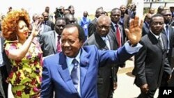 Le président camerounais Paul Biya le 9 octobre 2011à Yaoundé.