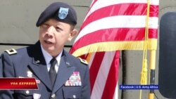 Thêm một thiếu tướng gốc Việt trong quân đội Mỹ