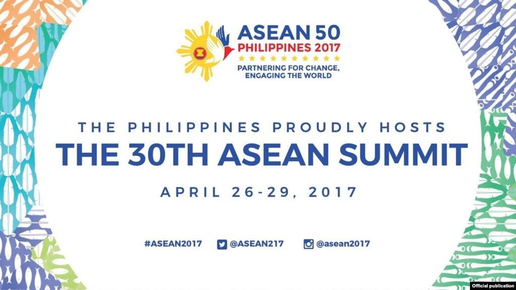 Hội nghị Thượng đỉnh ASEAN lần thứ 30 được tổ chức tại Manila, Philippines từ ngày 26 đến 29/4/2017.