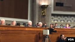 美参议院军事委员会就朝鲜等问题举行听证会