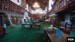 帕斯特阅览室(福尓杰莎士比亚图书馆提供)