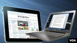 El iPad 2 y el Acer Aspire S3 son dos gadgets muy finos para usos dfinitivamente diferentes.