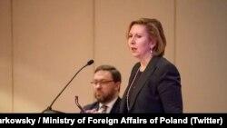 Мира Рикардел, заместитель Джона Болтона, советника президента США по вопросам нацбезопасности