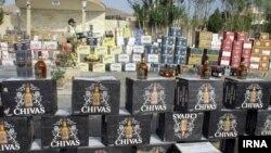 توقیف مشروبات الکلی قاچاق در ایران