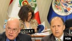 La asamblea general de la Organización de Estados Americanos se celebra en Lima.