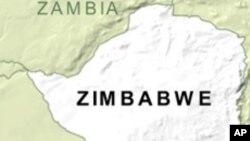 Kat jewografik peyi Zimbabwe