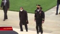 Thủ tướng Nhật thăm Toà Bạch Ốc, thể hiện cam kết an ninh với Mỹ