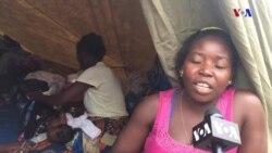 Moçambique: Cheias na Beira colocam população em tendas em condições muito precárias