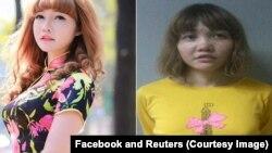 Cô Đoàn Thị Hương, một trong hai nghi can trong cái chết của ông Kim Jong Nam, anh cùng cha khác mẹ của nhà độc tài Triều Tiên Kim Jong Un