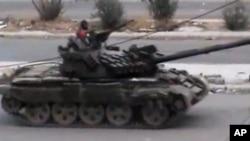 Snage sirijske vlade u pokrajini Dara