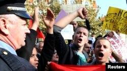 Albaniyada xalqaro hamjamiyat taklifiga qarshi namoyishlar o'tmoqda.