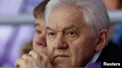 俄罗斯著名富豪,普京的密友季姆琴科(2014年2月18日 资料照片)