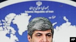 Iranian foreign ministry spokesman Ramin Mehmanparast (File Photo)