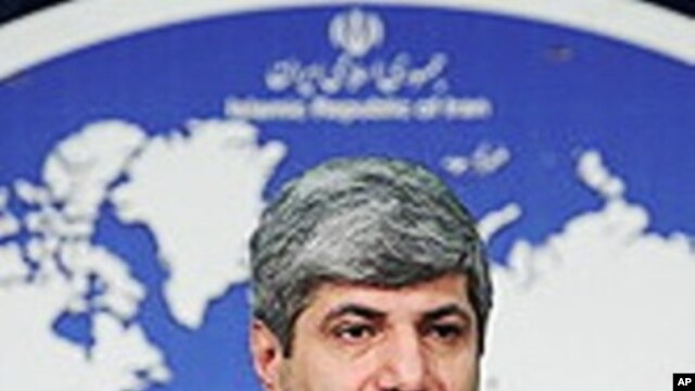Iranian foreign ministry spokesman Ramin Mehmanparast (File Photo)