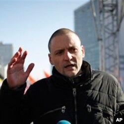 Sergey Udaltsov bir million kishilik namoyishga chaqirmoqda