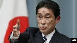 """Ông Kishida nói rằng Nhật Bản cần đối phó với Bắc Triều Tiên """"trong sự quân bình giữa đối thoại và áp lực."""""""
