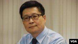 和平佔中倡議者陳健民表示,香港正面臨政改懸崖