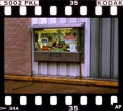 This place in Kansas is the last place in America where you can take Kodachrome film for developing. But that sign will be changed or removed at year's end.