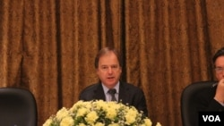 UK Foreign and Commonwealth Office Deputy Minister Hugo Swire