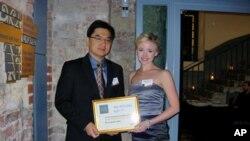 刘恩民和白洁获2010年AIB创意奖