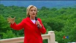 2015-07-05 美國之音視頻新聞:希拉里克林頓:與中國交往需要保持警醒