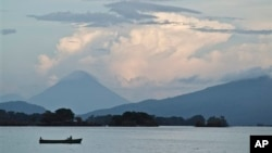 Озеро Никарагуа.