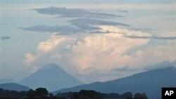 运河将经由尼加拉瓜最大的淡水湖尼加拉瓜湖。2013年6月7日 (照片来源:美联社)
