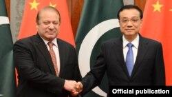 پاکستان اور چین کے وزرائے اعظم