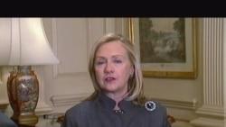 Hillary Clinton mesazh për Zërin e Amerikës