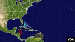 Una depresión tropical entró por las costas del Pacífico hace casi dos semanas y causó la muerte a unas 100 personas en Centroamérica.