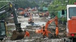 شدیدترین باران قرن در سئول