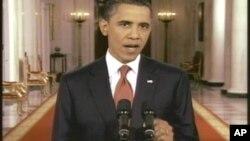 美國總統奧巴馬聲言共和黨籍議長約翰.貝納提出的提高美國借貸上限計劃不能接受﹐會予以否決。