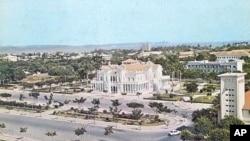 Vista da cidade de Benguela
