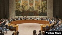 지난해 11월 미국 뉴욕 유엔본부에서 안보리가 전체회의를 열고 북한의 5차 핵실험에 대응하는 대북제재결의안을 채택했다. 당시 안보리는 만장일치로 결의안을 통과시켰다.