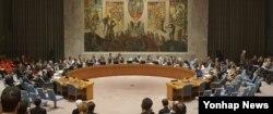 30일 미국 뉴욕 유엔본부에서 유엔 안보리가 전체회의를 열고 북한의 5차 핵실험에 대응하는 대북제재결의안을 채택했다. 안보리는 만장일치로 결의안을 통과시켰다.