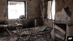 قندوز میں حملے کا نشانہ بننے والا اسپتال