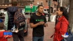 Amerika hayoti - Boston shahar ahli bilan suhbat - Navbahor Imamova
