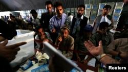 Audit pilpres Afghanistan di Kabul (3/8).