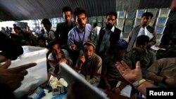 جلسه بازشماری آرای دور دوم انتخابات ریاست جمهوری افغانستان در کابل - ۱۳ امرداد ۱۳۹۳