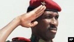 Thomas Sankara, l'ancien président burkinanè assassiné en 1987 au pouvoir