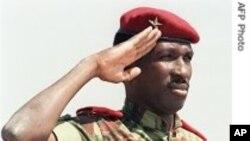 前布基纳法索总统桑卡拉。