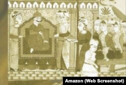 'نعمت نامہ' میں غیاث شاہ کی تصویر بھی موجود ہے جو اپنی مونچھوں سے نمایاں ہے
