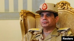 Bộ trưởng Quốc phòng Ai Cập Abdel Fattah al-Sisi tại Cairo.
