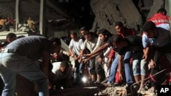 طرابلس پر نیٹو کے حملہ میں سات شہری ہلاک: لیبیا