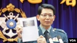 台灣國防部發言人羅紹和(美國之音資料照)