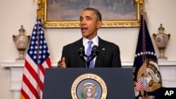 ولسمشر اوباما وویل ایران د دغه تړون په بدل کې د خپل اتومي پروګرام دشاوخوا ۲۵۰۰۰ سنترفیوژونو دوه په درېیمه برخهویجاړه کړې ده.