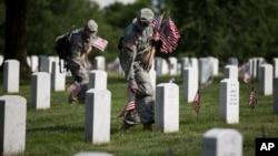 미국 워싱턴DC 인근의 알링턴 국립묘지. (자료사진)