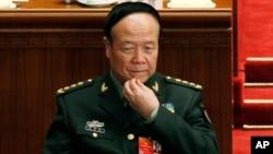 궈보슝 전 중국 중앙군사위원회 부주석 (자료사진)
