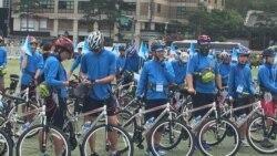 대한민국 청소년 평화원정대, 자전거로 DMZ 행진