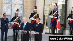 Emmanuel Macron - Boris Johnson